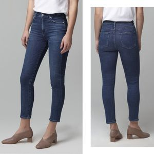 CITIZENS OF HUMANITY High-Rise Rocket Crop Jeans
